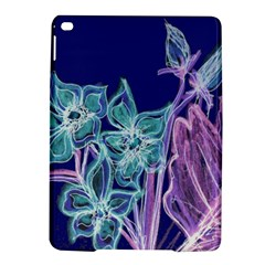 Purple, Pink Aqua Flower Style Ipad Air 2 Hardshell Cases