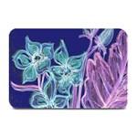 Purple, Pink Aqua Flower style Plate Mats 18 x12 Plate Mat - 1
