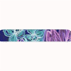 Purple, Pink Aqua Flower style Small Bar Mats