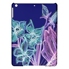 Purple, Pink Aqua Flower Style Ipad Air Hardshell Cases