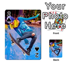 Skateboarding on Water Playing Cards 54 Designs