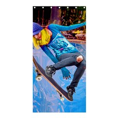 Skateboarding on Water Shower Curtain 36  x 72  (Stall)