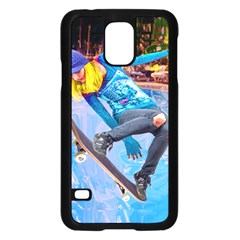 Skateboarding On Water Samsung Galaxy S5 Case (black)