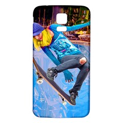 Skateboarding on Water Samsung Galaxy S5 Back Case (White)