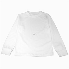 Feel The Bern On White Kids Long Sleeve T-Shirts