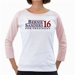 Bernie For President Girly Raglans