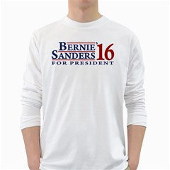 Bernie For President White Long Sleeve T-Shirts