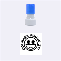 FoundIt-ColMark-Circle Small Rubber Stamp (Round)