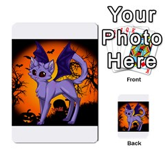 Seruki Vampire Kitty Cat Multi-purpose Cards (Rectangle)