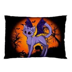 Seruki Vampire Kitty Cat Pillow Cases (Two Sides)