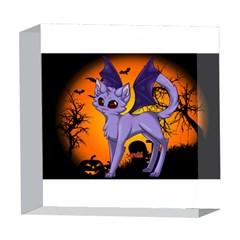Seruki Vampire Kitty Cat 5  x 5  Acrylic Photo Blocks