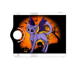 Seruki Vampire Kitty Cat Kindle Fire HDX 8.9  Flip 360 Case