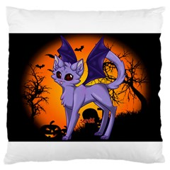 Seruki Vampire Kitty Cat Standard Flano Cushion Cases (One Side)