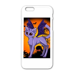 Seruki Vampire Kitty Cat Apple Iphone 6 White Enamel Case
