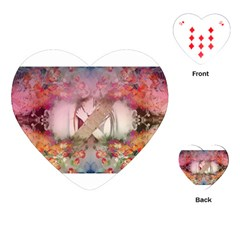 Cell Phone - Nature Forces Playing Cards (Heart)