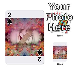 Cell Phone - Nature Forces Playing Cards 54 Designs