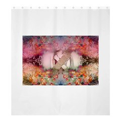 Cell Phone - Nature Forces Shower Curtain 66  x 72  (Large)