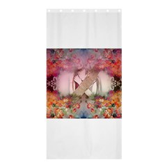 Cell Phone - Nature Forces Shower Curtain 36  x 72  (Stall)
