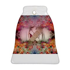 Cell Phone - Nature Forces Bell Ornament (2 Sides)