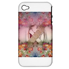 Cell Phone   Nature Forces Apple Iphone 4/4s Hardshell Case (pc+silicone)