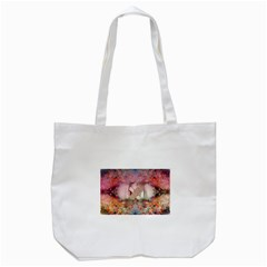 Cell Phone - Nature Forces Tote Bag (White)