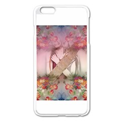 Cell Phone - Nature Forces Apple iPhone 6 Plus Enamel White Case