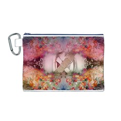 Cell Phone   Nature Forces Canvas Cosmetic Bag (m)
