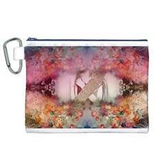 Cell Phone   Nature Forces Canvas Cosmetic Bag (xl)