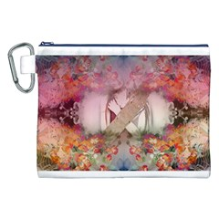 Cell Phone - Nature Forces Canvas Cosmetic Bag (XXL)