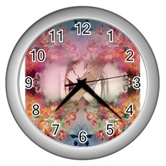 Nature And Human Forces Cowcow Wall Clocks (silver)