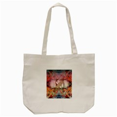 Nature And Human Forces Cowcow Tote Bag (Cream)