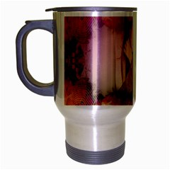 Nature And Human Forces Cowcow Travel Mug (silver Gray)