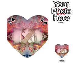 Nature And Human Forces Cowcow Playing Cards 54 (heart)