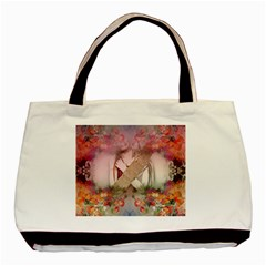 Nature And Human Forces Cowcow Basic Tote Bag (two Sides)