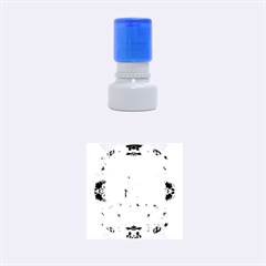 Nature And Human Forces Cowcow Rubber Round Stamps (Small)