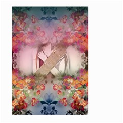 Nature And Human Forces Cowcow Large Garden Flag (Two Sides)