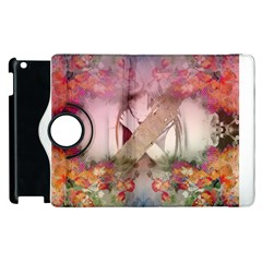 Nature And Human Forces Cowcow Apple iPad 2 Flip 360 Case