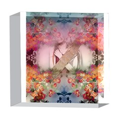 Nature And Human Forces Cowcow 5  x 5  Acrylic Photo Blocks