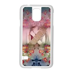 Nature And Human Forces Cowcow Samsung Galaxy S5 Case (white)