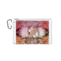 Nature And Human Forces Cowcow Canvas Cosmetic Bag (S)
