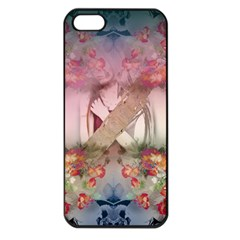 Nature And Human Forces Cowcow Apple Iphone 5 Seamless Case (black)