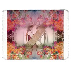 Nature And Human Forces Cowcow Samsung Galaxy Tab 7  P1000 Flip Case