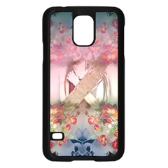 Nature And Human Forces Cowcow Samsung Galaxy S5 Case (black)