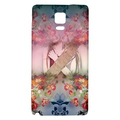 Nature And Human Forces Cowcow Galaxy Note 4 Back Case