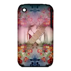 Nature And Human Forces Cowcow Apple iPhone 3G/3GS Hardshell Case (PC+Silicone)