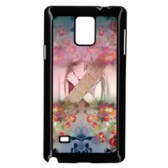 Nature And Human Forces Cowcow Samsung Galaxy Note 4 Case (Black)