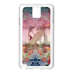 Nature And Human Forces Cowcow Samsung Galaxy Note 3 N9005 Case (white)