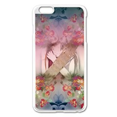 Nature And Human Forces Cowcow Apple Iphone 6 Plus Enamel White Case