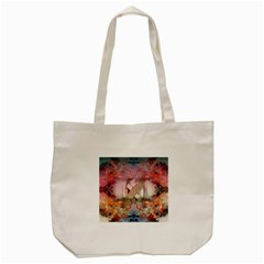 Nature and Human Forces Tote Bag (Cream)