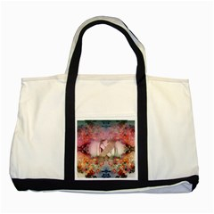 Nature And Human Forces Two Tone Tote Bag